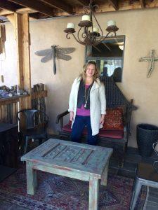Mia Bolte, self-care in Taos
