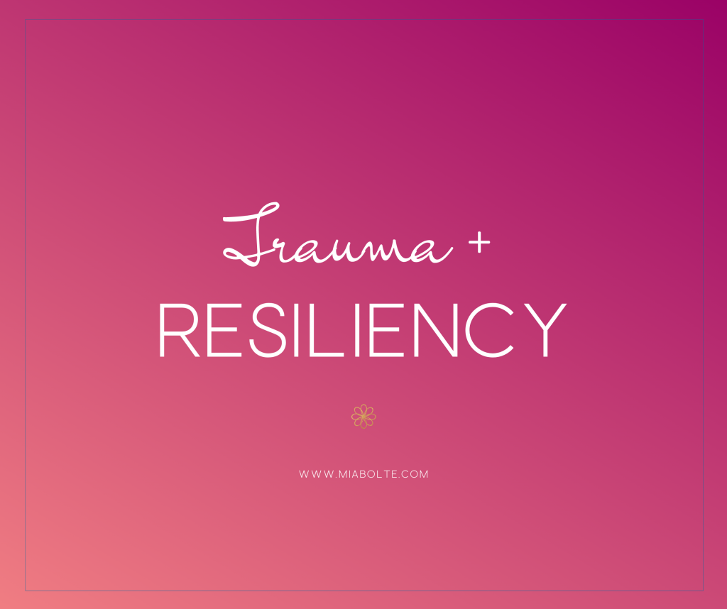 Trauma and Resiliency Course